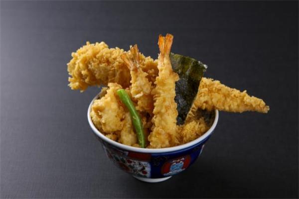 天喜黄金炸虾饭黄金虾
