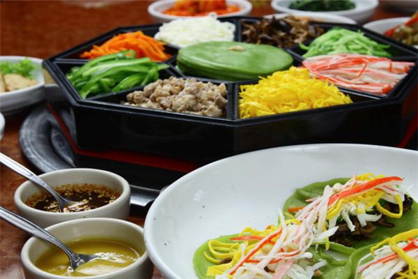 霜花店韩国料理美味