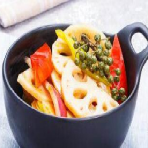 小碗菜快餐麻辣藕片