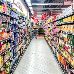 临期食品超市走廊