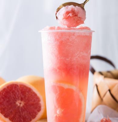饮料厂柚子
