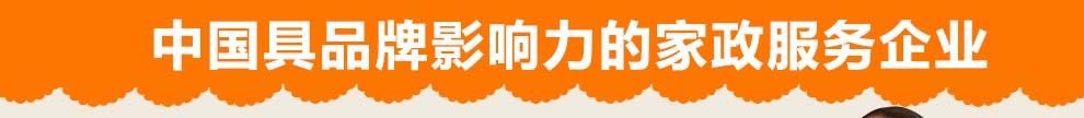 中国最具品牌影响力的家政服务企业