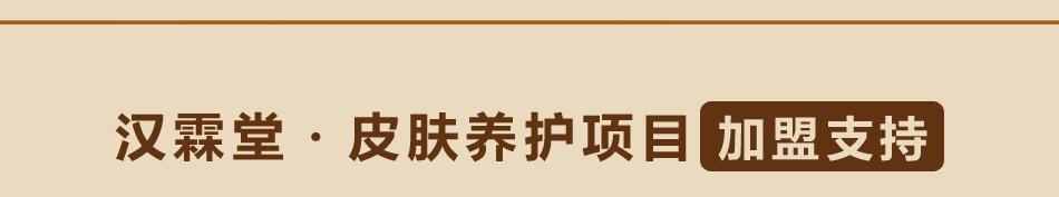 汉霖堂·皮肤养护项目-加盟支持