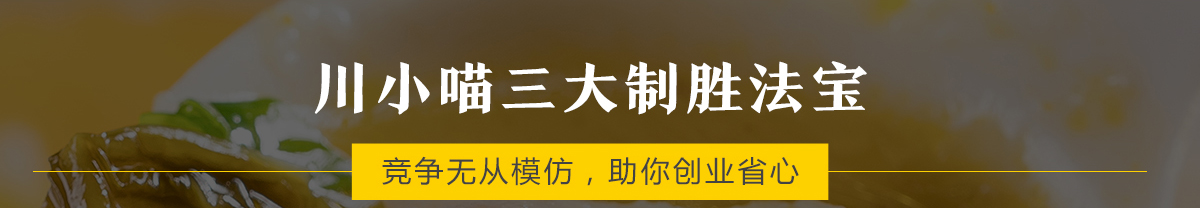 川小喵酸菜魚_三大制勝法寶