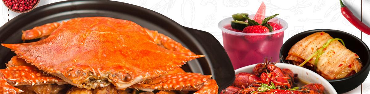 盖式蟹煲--堂吃销量高,外卖订单多