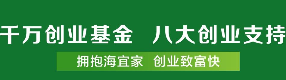 海宜家硅藻泥_8大创业支持