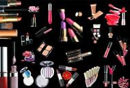 时尚女孩化妆品