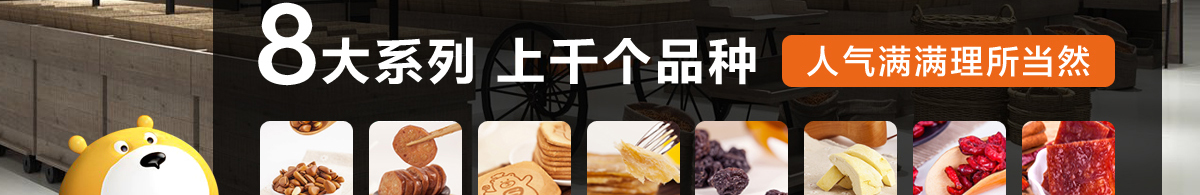 零食工坊零食专卖连锁——产品系列
