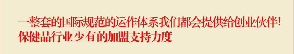 正官庄-加盟支持